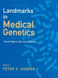 Landmarks in Medical Genetics
